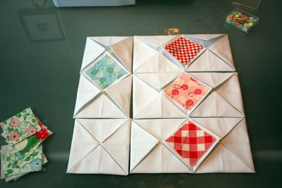 sew together in pairs