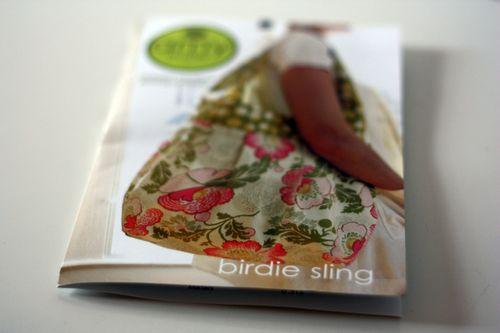 Pattern birdie sling