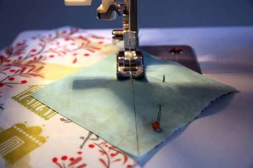 Piecing ~ little folks
