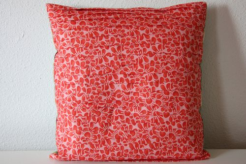 Fandango pleated pillow cover