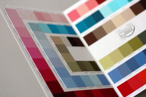 Kona colour card